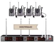 4 CHANNELS LAPEL/HEADSET MICS   Musical Instruments for sale in Greater Accra, Nii Boi Town