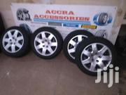 Honda Rim 16 Honda With Tyres 5 Stud. | Vehicle Parts & Accessories for sale in Eastern Region, Asuogyaman