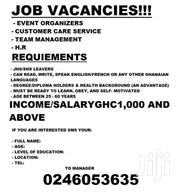 JOB VACANCY OPPORTUNITY | Accounting & Finance CVs for sale in Greater Accra, East Legon