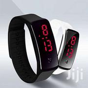 Generic Silicone Gel LED Wrist Watch - Black   Watches for sale in Greater Accra, Achimota