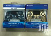 Ps4 Lastest Camou Blue And Gold Color Controller | Video Game Consoles for sale in Greater Accra, Akweteyman