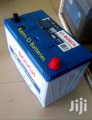 17 Plates Bosch Car Battery + Free Delivery- Toyota Hardbody Prado | Vehicle Parts & Accessories for sale in Greater Accra, Osu