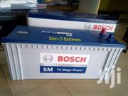 25 Plates Bosch Truck Battery + Free Delivery-renault Benz | Vehicle Parts & Accessories for sale in Greater Accra, Agbogbloshie