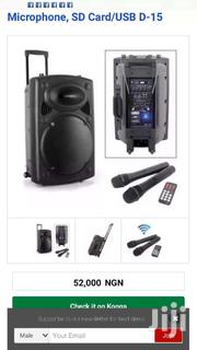 Jiepak Sound System With Two Mic | Audio & Music Equipment for sale in Greater Accra, Avenor Area
