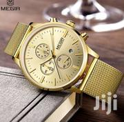Megir (2011) Luxury Chronograph Mesh Watch | Watches for sale in Greater Accra, Accra Metropolitan