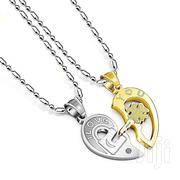 Stainless Steel Couple Pendant Necklace | Jewelry for sale in Greater Accra, Nungua East