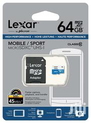 Lexar Microsd 64GB | Cameras, Video Cameras & Accessories for sale in Eastern Region, Asuogyaman
