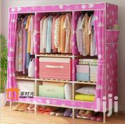 Foldable Wood Clothe Wardrobe / Storage Cabinet | Furniture for sale in Eastern Region, Asuogyaman