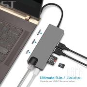 USB-C MULTIPORT ADAPTER 9 IN 1 | Computer Accessories  for sale in Greater Accra, South Labadi