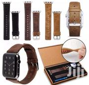 Apple Watch Leather Strap | Accessories for Mobile Phones & Tablets for sale in Greater Accra, Kwashieman