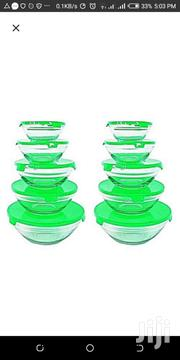 Glass Storage Bow With Plastic Lid | Home Appliances for sale in Greater Accra, Ga East Municipal