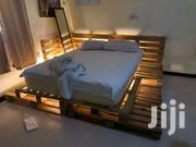 Pallet Bed Frame | Furniture for sale in Greater Accra, Okponglo