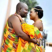 Yellow Beautiful Bawumia Kente | Clothing for sale in Greater Accra, Labadi-Aborm