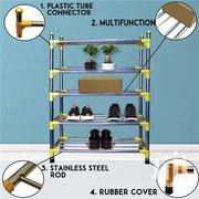 Stainless Steel Multifunctional Shoe Rack | Furniture for sale in Greater Accra, Abelemkpe