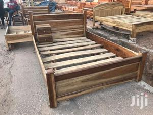 Full Wooden Double Bed.