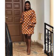 Polka-Puff Dress | Clothing for sale in Greater Accra, Dansoman