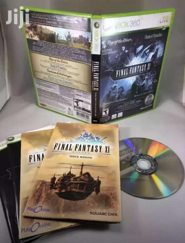 Final Fantasy XI: The Vana'diel Collection  - Xbox 360