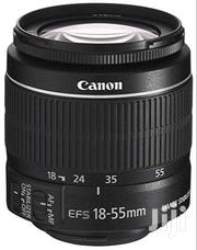 Canon EF-S 18-55mm F/3.5 STM Lens | Cameras, Video Cameras & Accessories for sale in Greater Accra, Darkuman