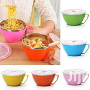 Noodle Or Soup Bowl With  Lid Stainless Steel Anti-scalding   Kitchen & Dining for sale in Greater Accra, Accra Metropolitan