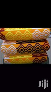 Yellow Beautiful Kente Cloth Bonwire Kente | Clothing for sale in Greater Accra, Labadi-Aborm