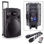 Jiepak Audio Sound System With Two Mic | Audio & Music Equipment for sale in Greater Accra, Dansoman