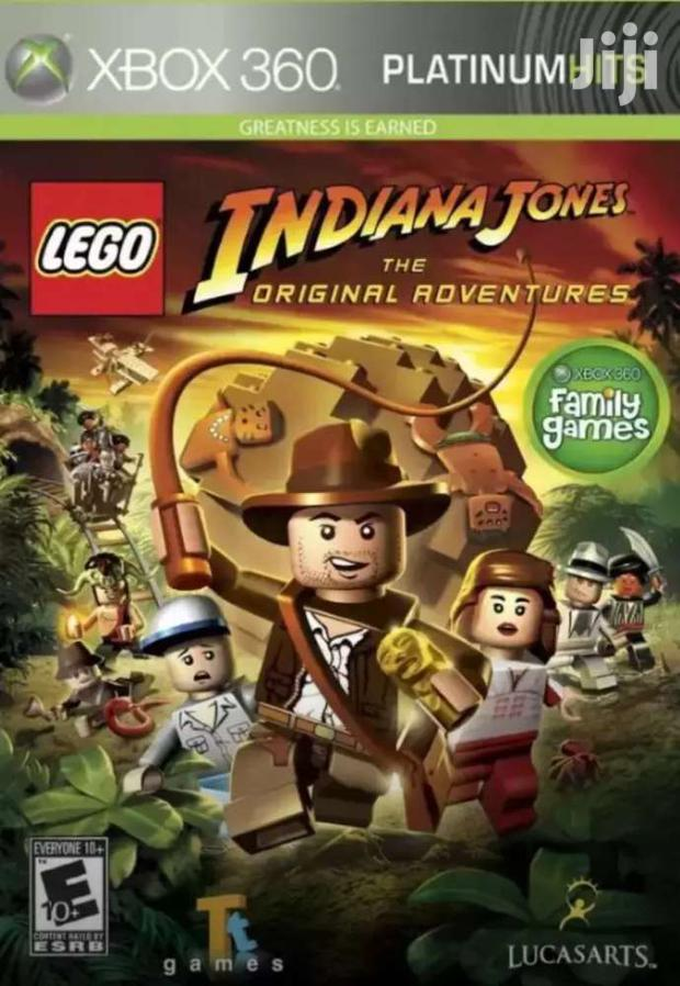 Xbox 360 Platnium Series Lego Indiana Jones: The Original Adventures