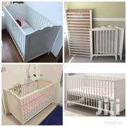 Ikea-wooden Baby's Bed/Cot From U.S | Children's Furniture for sale in Greater Accra, East Legon (Okponglo)
