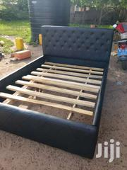 Black Leather Bed | Furniture for sale in Greater Accra, Alajo