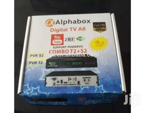 APHABOX A8 PURE HD COMBO RECEIVER WITH AUTOROLL POWERVU