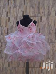 Sleeveless Pink Floral Bubble Dress | Children's Clothing for sale in Greater Accra, Teshie-Nungua Estates