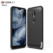 NOKIA 7.1 HIGH QUALITY CARBON FIBER CASE | Accessories for Mobile Phones & Tablets for sale in Greater Accra, Teshie-Nungua Estates