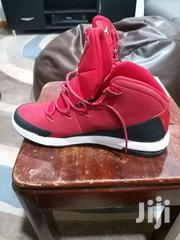 Red White And Black Nike Jordan Air Deluxe Bball Shoe Size 1 3 | Shoes for sale in Greater Accra, Tema Metropolitan