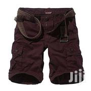 Combat Shorts-wine Red. | Clothing for sale in Greater Accra, Cantonments