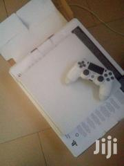 PS4 Slim White Limited Edition Slightly Used In Box | Video Game Consoles for sale in Brong Ahafo, Sunyani Municipal
