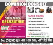 Get Trained And Work In South Africa | Accounting & Finance Jobs for sale in Greater Accra, Okponglo