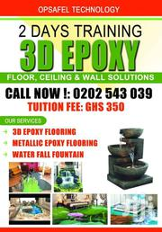 Learn How To Install 3D Epoxy Flooring Solutions | Building & Trades Services for sale in Greater Accra, Dansoman