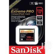 128GB Sandisk CF 4K Extreme Pro Compact Flash Card for Cameras | Cameras, Video Cameras & Accessories for sale in Greater Accra, Accra Metropolitan