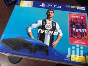 PS4 Slim 500gb With 2 Controllers, Fifa 19 Bundle | Video Game Consoles for sale in Greater Accra, Kanda Estate