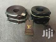 Original Louis Vuitton Leather Belt For Sale | Clothing Accessories for sale in Greater Accra, New Mamprobi