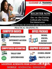 99% PRACTICAL COMPUTER TRAINING COURSES | Classes & Courses for sale in Greater Accra, Achimota