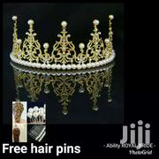 Golden Wedding Hair Crown | Hair Beauty for sale in Greater Accra, South Kaneshie