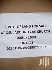 Fenced Land For Outright Sale At Osu Behind CAC Church | Land & Plots For Sale for sale in Greater Accra, Osu
