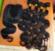 14' Italian Body Hair Package With Closure | Hair Beauty for sale in Greater Accra, Accra Metropolitan