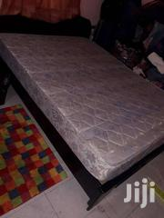 Bed & High Density Latex Foam Mattress For Sale At GHC900.00 | Furniture for sale in Central Region, Cape Coast Metropolitan