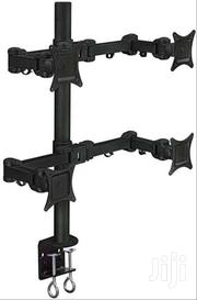 BRBK88 - FOUR/QUAD ARM MONITOR BRACKET FOR 13' ~ 27'' COLOR: BLACK | Computer Monitors for sale in Greater Accra, Bubuashie