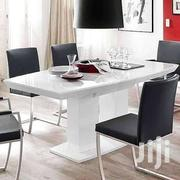 Dinning Table + 4 Leather Chairs | Furniture for sale in Greater Accra, Achimota