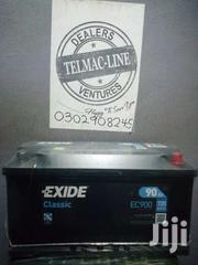 Car Battery 17 Plate/90ah(Exide) | Vehicle Parts & Accessories for sale in Greater Accra, New Abossey Okai