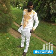 White And Gold African Wear, Embroidery Wear For Men | Clothing for sale in Greater Accra, Tema Metropolitan