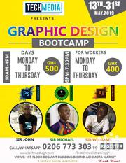 GRAPHIC DESIGN BOOTCAMP | Classes & Courses for sale in Greater Accra, Achimota