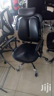 Orthorpidic Swivel Leather Chair | Furniture for sale in Greater Accra, North Kaneshie